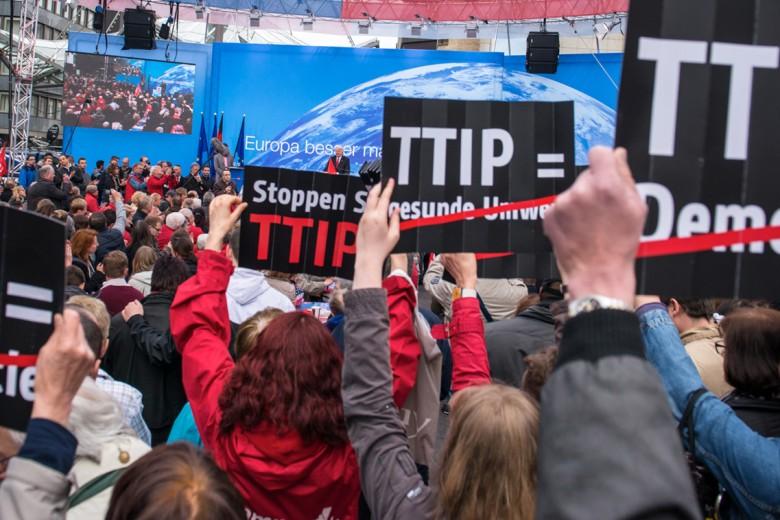 A Berlino la manifestazione contro il Ttip