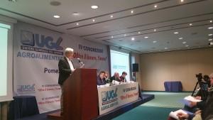 Il Segretario Nazionale dell'Ugl Agroalimentare, Paolo Mattei
