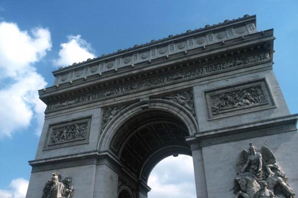 Francia Parigi Arco di Trionfo Monumenti