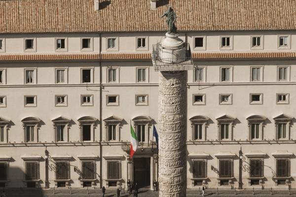 PALAZZO CHIGI GOVERNO ITALIANO PRESIDENZA DEL CONSIGLIO COLONNA ANTONINA
