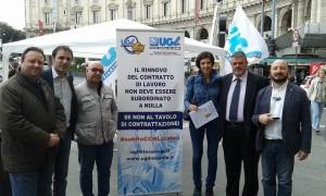 Nella foto, Giuseppe Mascolo, Giovanni Iacoi, Eugenio Bartoccelli, Daniela Ballico, Alessandro Di Stefano e Francesco Paolo Capone