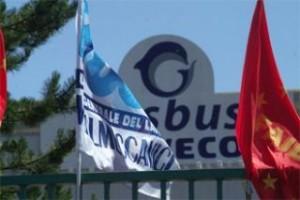 ex-Irisbus di Flumeri, bandiere ai cancelli