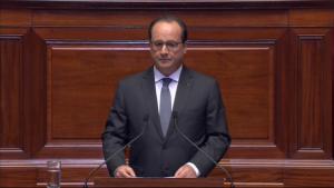 Francois Hollande Discorso alle Camere riunite a Versailles