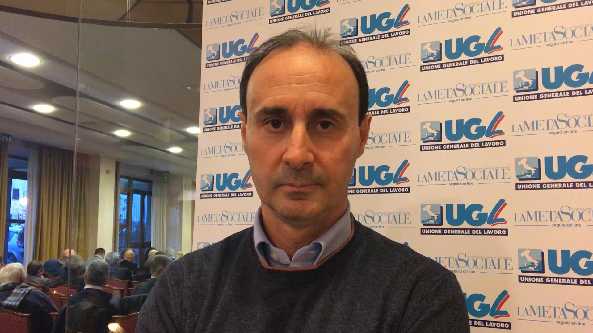 Luigi Ulgiati, segretario nazionale dell'Ugl Chimici