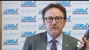 Giovanni Condorelli, segretario confederale dell'Ugl con delega alle politiche del Mezzogiorno