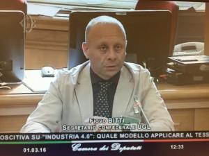 Fiovo Bitti, segretario confederale dell'Ugl