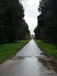 Il parco del Palazzo Vanvitelli