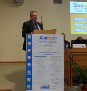 Il segretario generale dell'Ugl, Francesco Paolo Capone