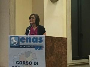 On. Renata Polverini, Vice Presidente della Commissione Lavoro alla Camera dei Deputati e responsabile del Dipartimento nazionale politiche del lavoro e sindacali di Forza Italia