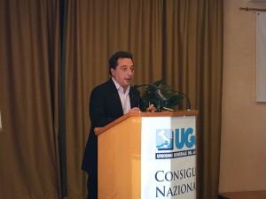 Piero Peretti, segretario generale dell'Ugl Credito