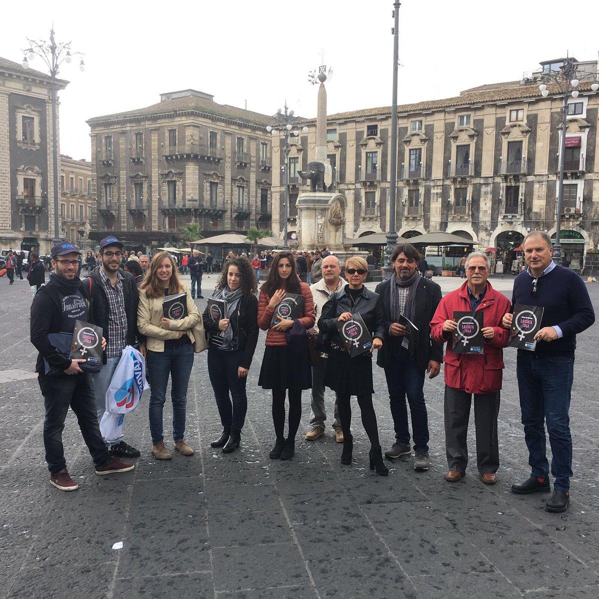 Maipiusola, mobilitazione a Catania