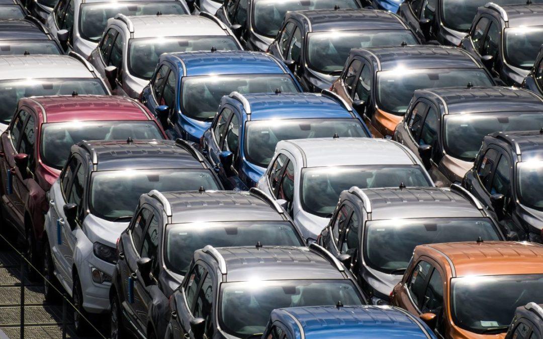Mercato dell'auto, ancora male il confronto con il 2019