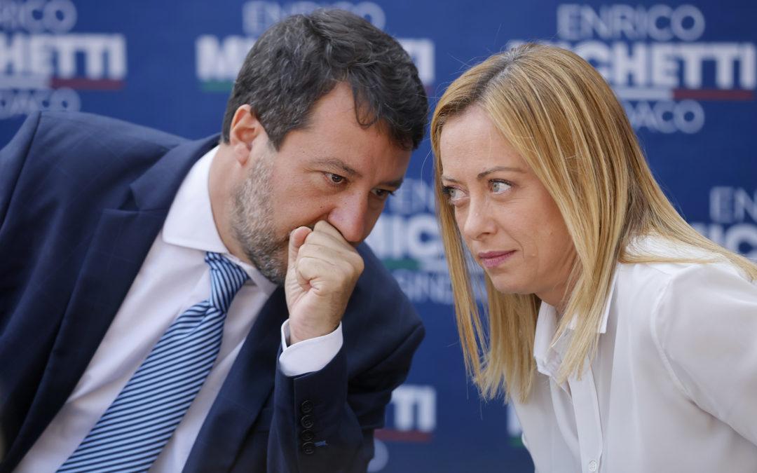 Centrodestra, Salvini: «Non ci faranno litigare»